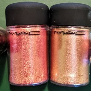 2x MAC Pigments (Rose and Tan Shades)